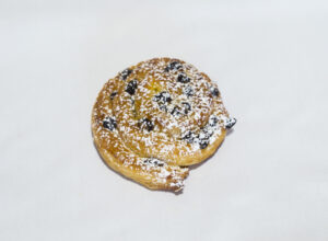 mini roulé au chocolat